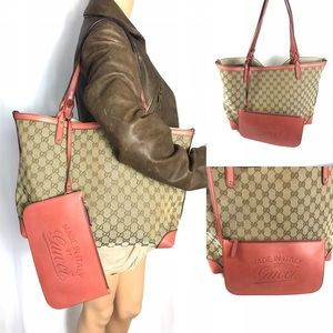Auth🌟BEAUTIFUL 🌟Gucci tote and wristlet set